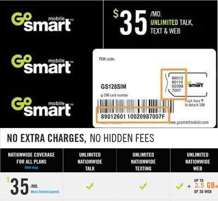 Free Go Smart Reload Codes